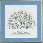 Vogelbaum,blau